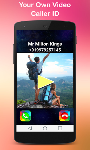 Video Call Screen Caller ID