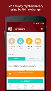 Freewallet: Bitcoin, Ether, Monero Multi Wallet🔗- screenshot thumbnail