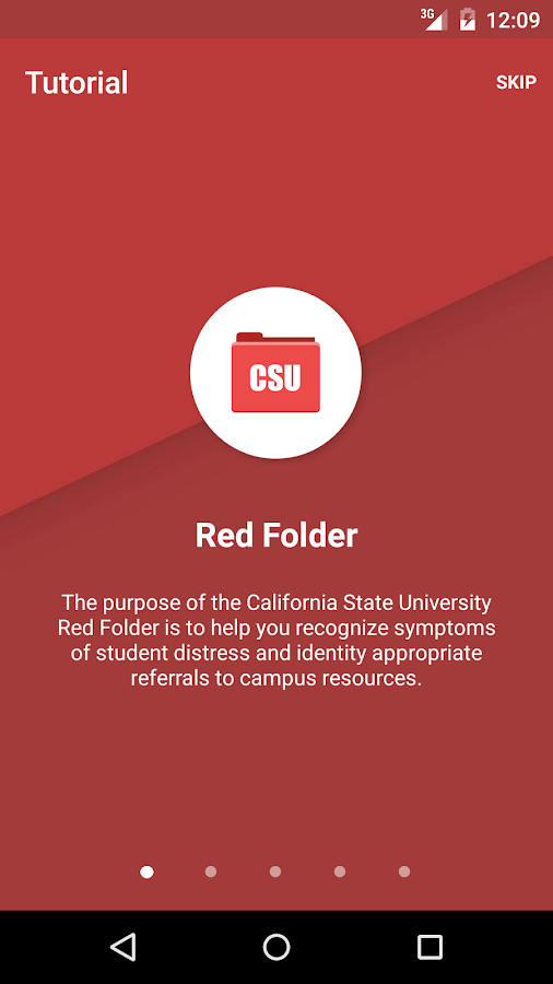 Red Folder- screenshot