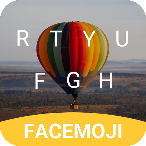 Colorful Balloon Keyboard Theme for Whatsapp