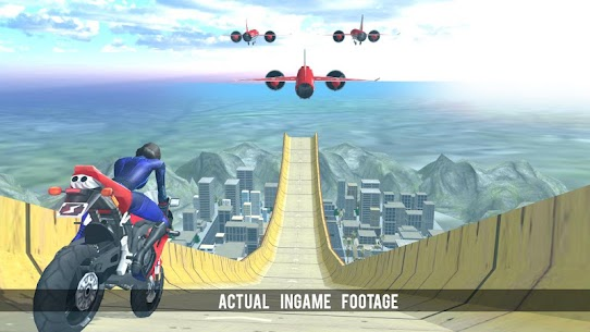 Super Hero Bike Mega Ramp 2 8