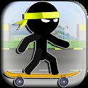 Stickman Skateboard 2 icon