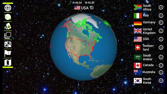 Earth 3D - náhled