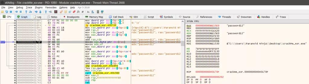 Kỹ thuật dịch ngược cho người mới bắt đầu - Mã hóa  XOR - Windows x64  - Ảnh 8.