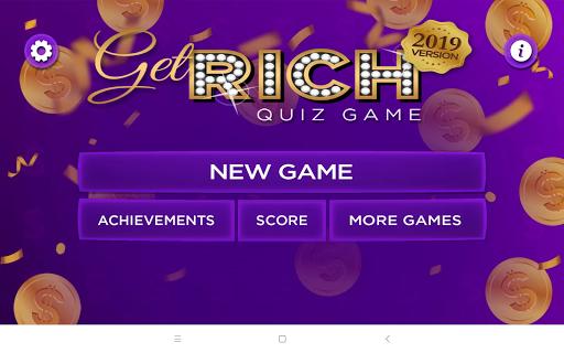 Trivia Quiz Get Rich - Fun Questions Game 3.42 screenshots 8