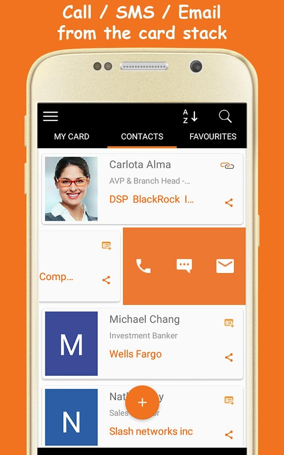 Business Card Scanner - Business Card Organizer - Android Apps on ...