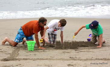 Photo: (Year 3) Day 22 -  Rog Making Sure His Nephews Are Building Things Correctly