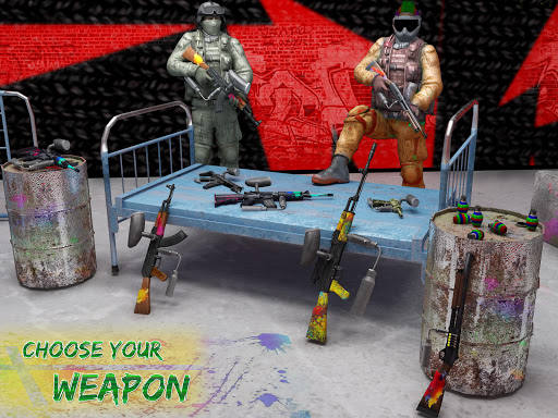 Paintball Arena Shooting: Shooter Survivor Battle apkpoly screenshots 10