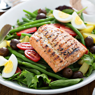 Salmon Salad Hard Boiled Eggs Recipes