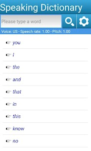 Speaking Dictionary 5.8.7