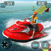 Jet Ski Stunts : Water Surfing Sports