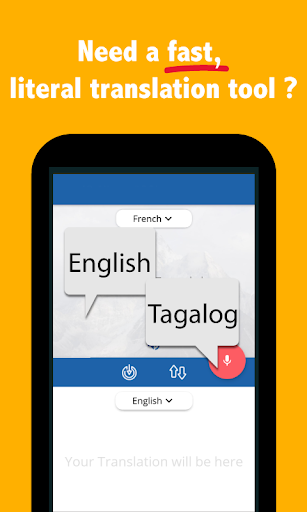 English Tagalog Translator App Report on Mobile Action - App