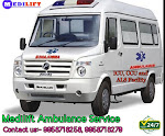 Complete Medical Facility Ground Ambulance Service in Patna By Medilift Ambulance