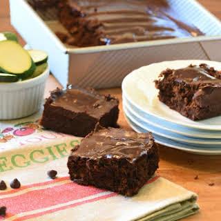 Triple Chocolate Zucchini Brownies – Recipe.