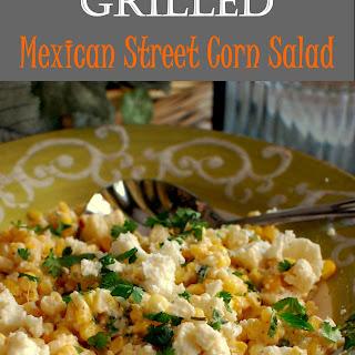 Grilled Meixcan Street Corn Salad