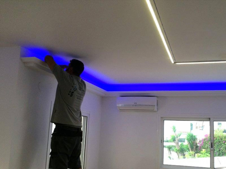 Como iluminar con tiras LED - foto 4