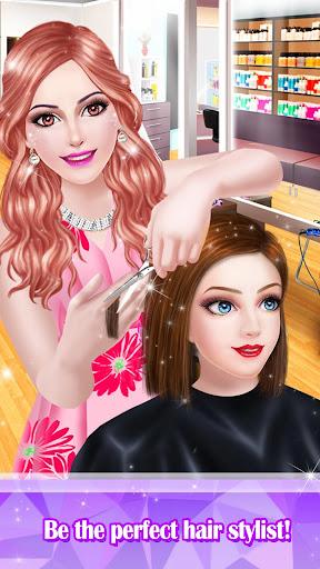 Télécharger Hair Styles Fashion Girl Salon APK MOD 2