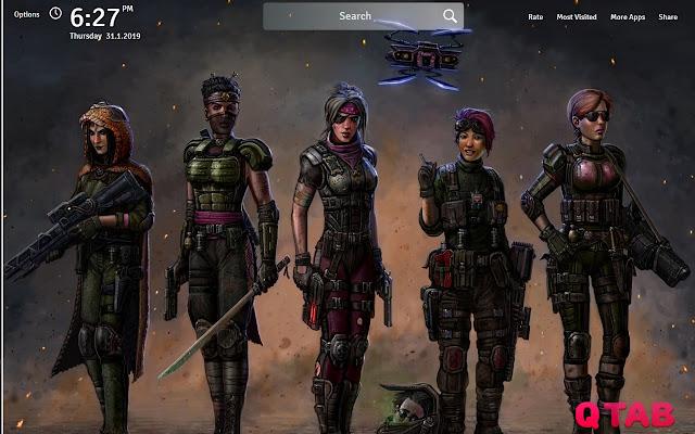 XCOM 2 Wallpapers New Tab