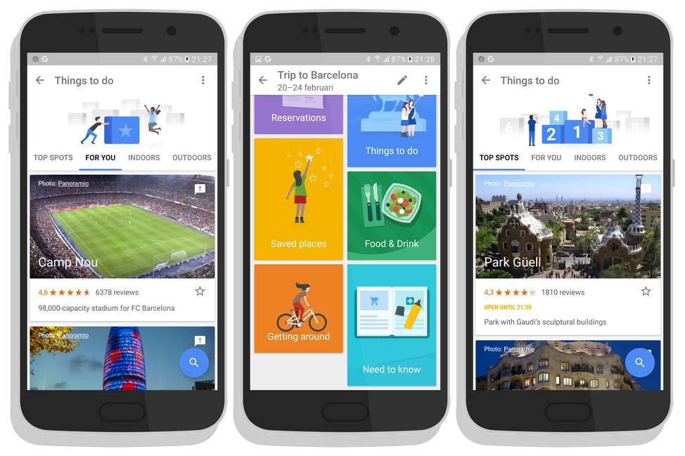 Google Trips: l'app che ti dice cosa vedere in ogni città o paese