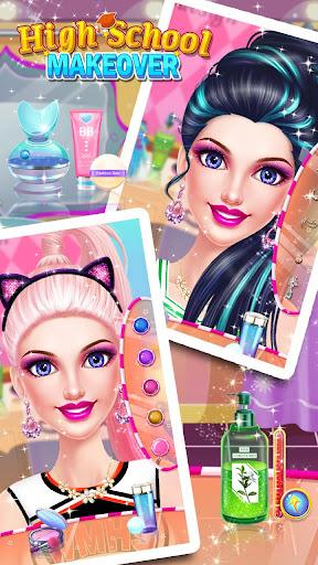 School Makeup Salon apkpoly screenshots 4