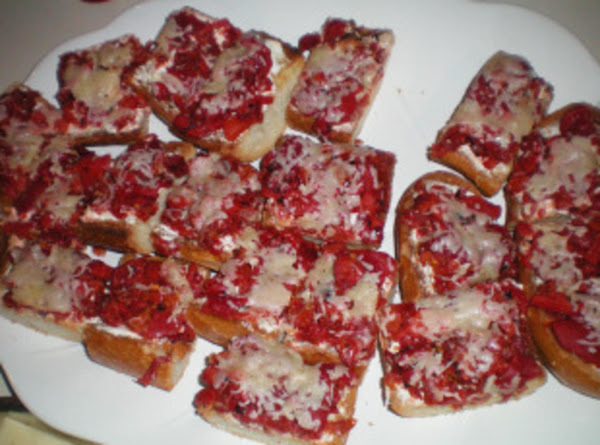 Bruschetta Pizza Bread Recipe
