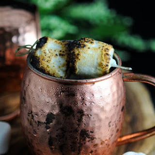 Campfire Mule – a Moscow Mule Cocktail Recipe