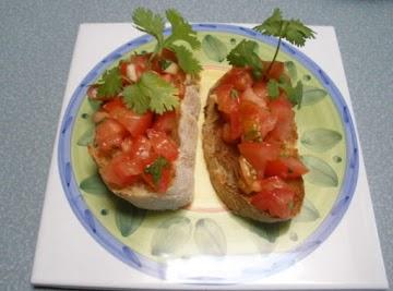 Mexican Bruschetta Recipe