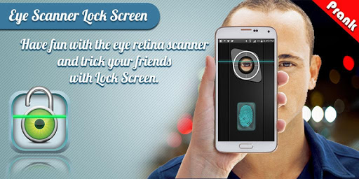 Eye Scan Lock Screen Prank