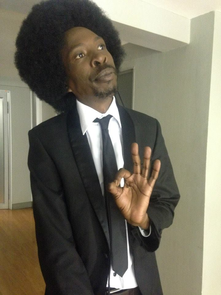Pitch Black Afro was formally charged on Thursday with the murder of his wife