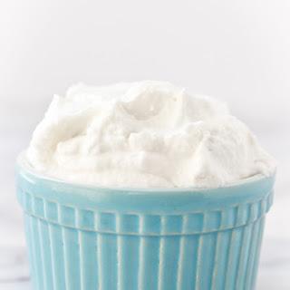 Vegan and Paleo Whipped Cream