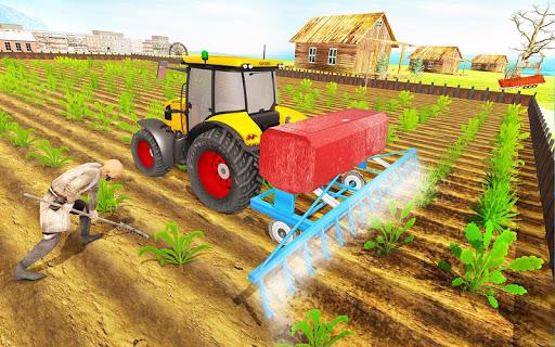 Modern Tractor Farming Simulator: Offline Games screenshots 11