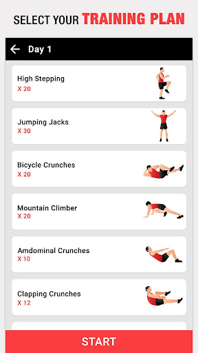 Six Pack in 30 Days for Men – Abs Workout at Home app (apk