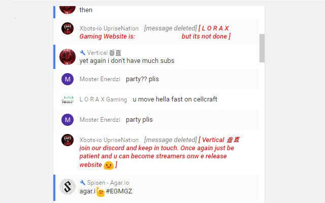 Livestream extension