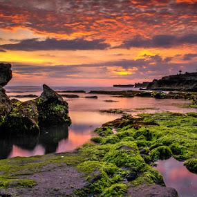 mengening  by KooKoo BreSyanatha - Landscapes Sunsets & Sunrises
