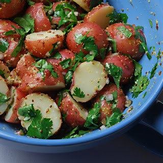 Potato Salad with Capers, Shallots and Mustard