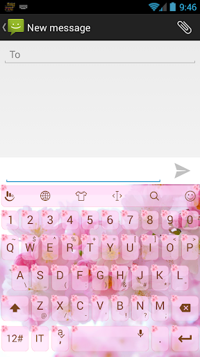 Theme TouchPal ValentineCherry