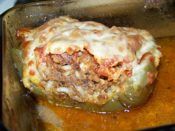 Seasoned  Stuffed Peppers Recipe