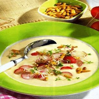 Potato And Radish Soup