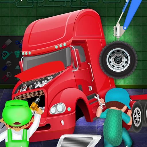 Trailer Truck Builder Factory: Mechanic Garage Sim (game)