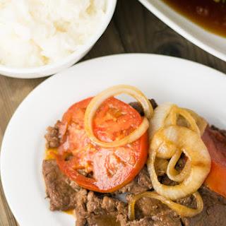 Bistek (Filipino Beef Steak)