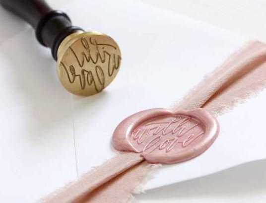 Artisaire wax stamp