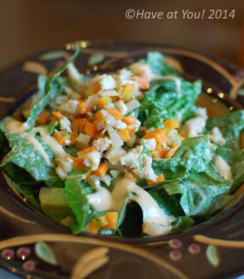 hawaiian chicken salad with water chestnuts