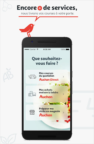 Auchan France Android App Screenshot