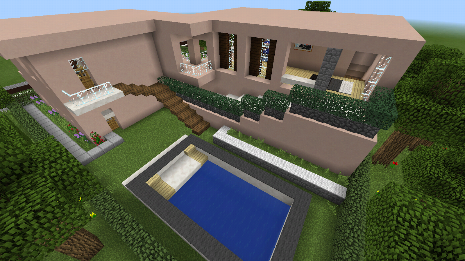 Modern House map for MCPE - Android Apps on Google Play