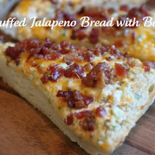 Stuffed Jalapeno Bread with Bacon.