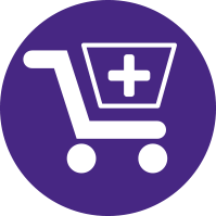 Simplified Shopping Cart Illustration
