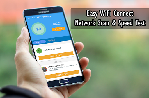 Free Wifi Connection Anywhere & Mobile Hotspot 1.0.8 screenshots 1