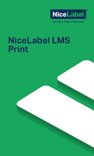 NiceLabel LMS Print - náhled