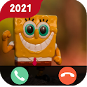 📱Call from bob | video call prank Simulation icon
