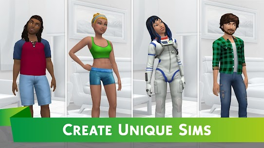 The Sims Mobile MOD APK 23.0.0.102429 (Unlimited Money) 2